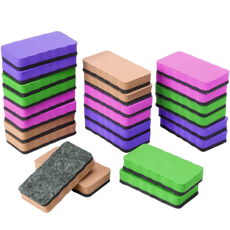 Magnetic Whiteboard Dry Eraser Chalkboard Cleanser Chalk Eraser by Lumirella (Image #1)
