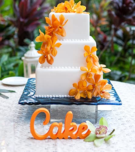 Amazon Cake Sign For Wedding Cake Table Wooden Freestanding