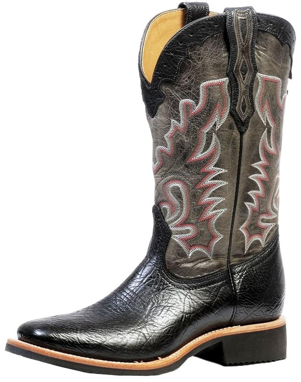 Boulet Men's Shoulder Organza Grey Boot Square Toe - 4343