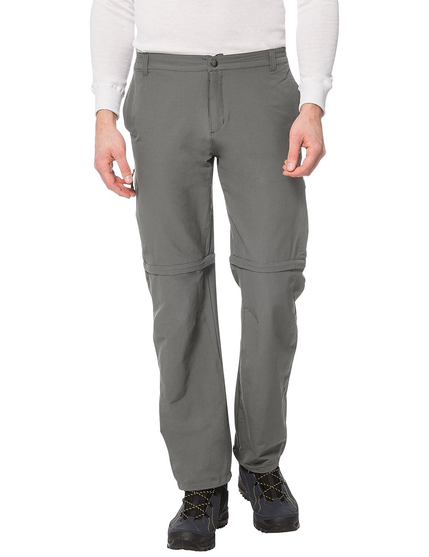 TALLA 2XL. Ultrasport Outdoor Trekkinghose 100 Pantalones de Trekking, Hombre, Gris, XXL