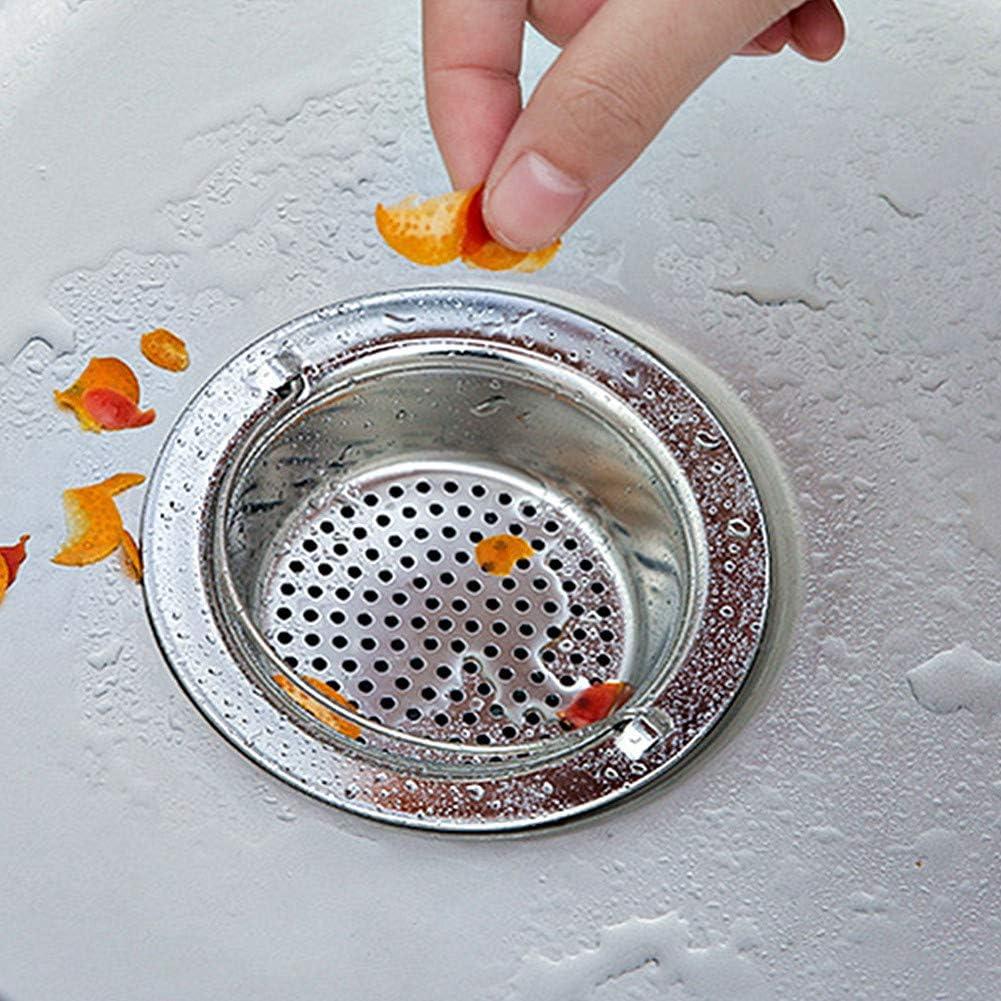 BOENTA Tappo lavandino Cucina Filtro lavandino Filtro per lavello in Silicone Anti intasamento Filtro lavello della Cucina Tappi per lavandino 2pcs