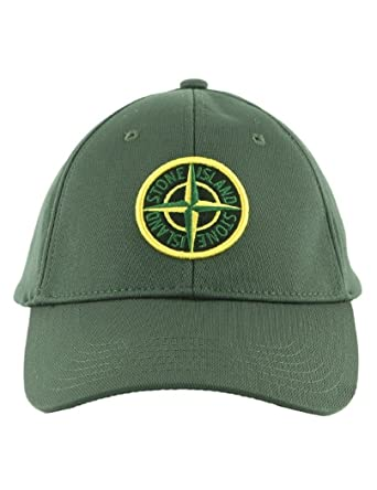 logo cap - Green Stone Island xVN61T