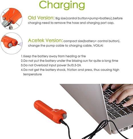 Monland Douches DExt/éRieur Chargeur USB de Camping-Car Portable Douches DExt/éRieur Douche Ext/éRieure