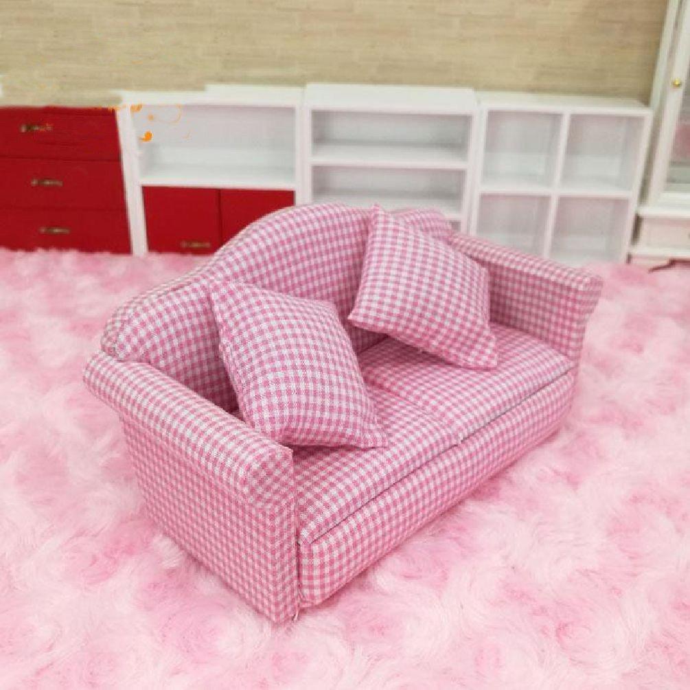 Amazon.com: Casa de muñecas 1: 12 Miniatura Muebles De Salón ...