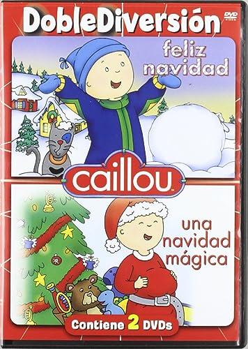 Caillou Navidad Mgica  Feliz Navidad DVD Amazones