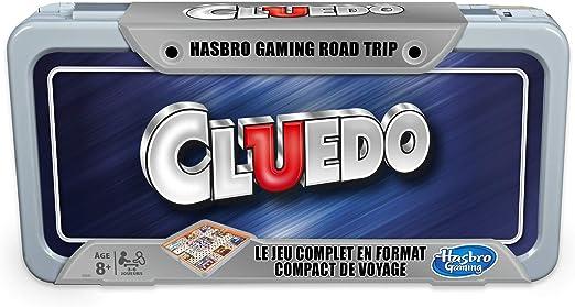 Cluedo Road Trip – Juego de Viaje – Versión Francesa: Amazon.es: Juguetes y juegos