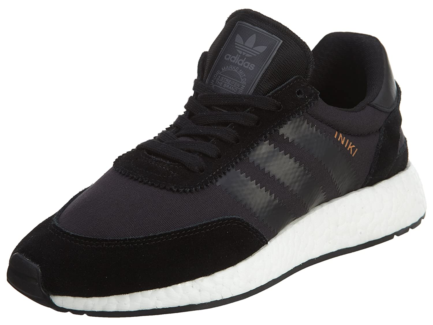 Adidas Mens Iniki Runner Black/White Nylon