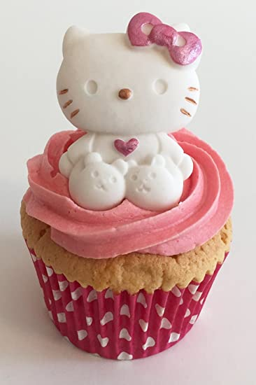 Gorgeous Large Sugar Hello Kitty Edible Handmade With