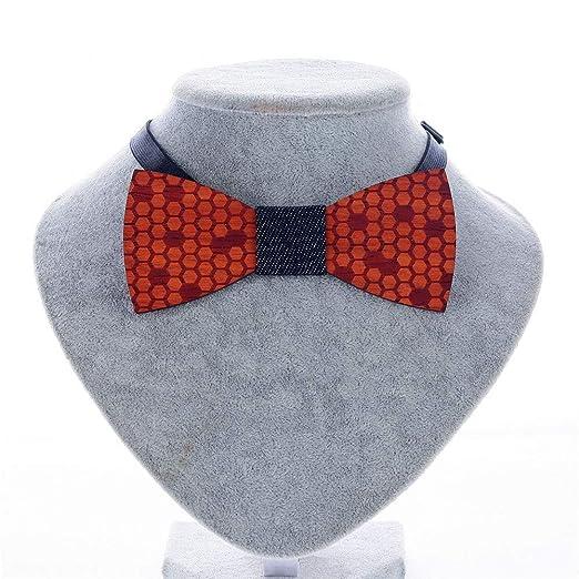 Corbata de lazo de madera para hombre Corbatas de los hombres ...