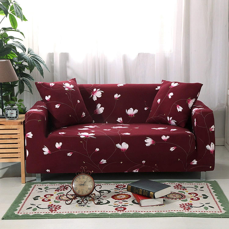 Amazon.com: Elastic Stretch Universal Sofa Cover Sectional ...