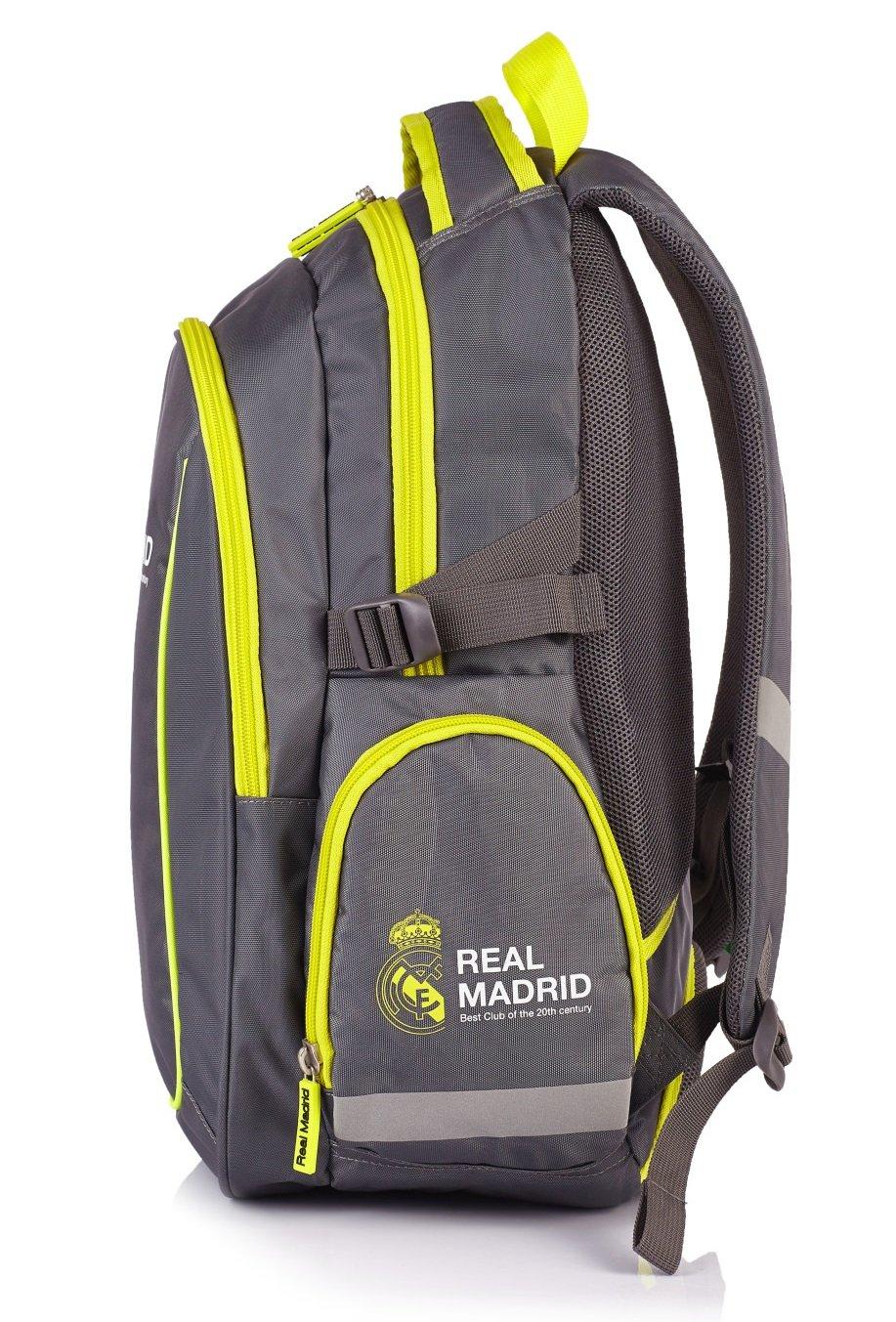d8bfa40ae4 Real Madrid grand sac a dos ergonomique loisirs moto sport cartable l'école  nouveauté RM-99 ...