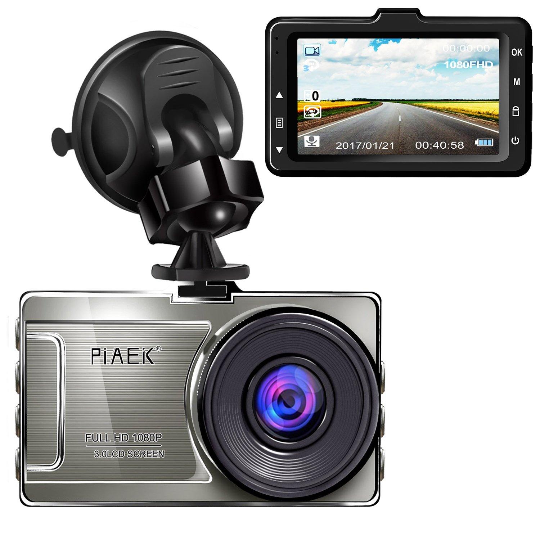Dashcam Full HD 1080P Kamera Auto DVR mit 170° Weitwinkel 3'' LCD-Bildschirm WDR Nachtsicht Bewegungserkennung Parkmonitor Loop Aufnahme G-Sensor Gelute Sell