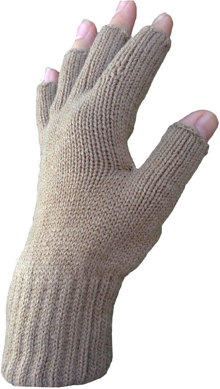 3pairs Ladies Winter Warm Thermal Warmth Stretch Magic Fingerless MultI Use Glove