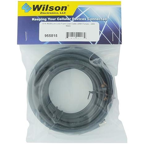 Wilson Electronics 955815 - Cable coaxial (SMA, SMA, Derecho, Derecho, 4