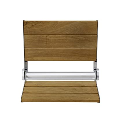 Amazon.com: Folding Bath Seat Bench Shower Chair Wall Mount Solid ...