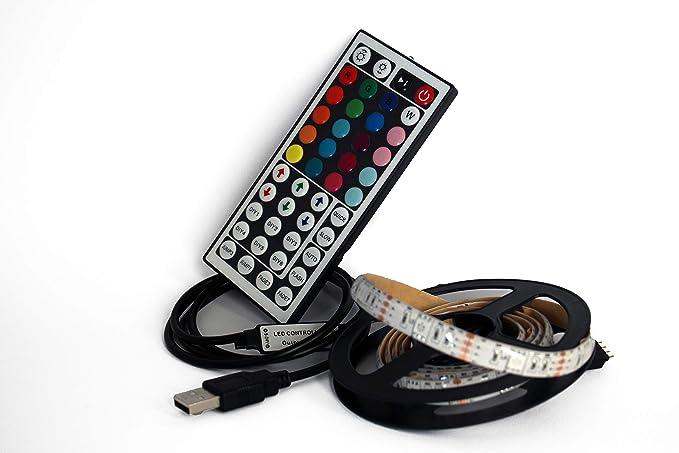 Led rgb strip light usb for back lighting tv ebay