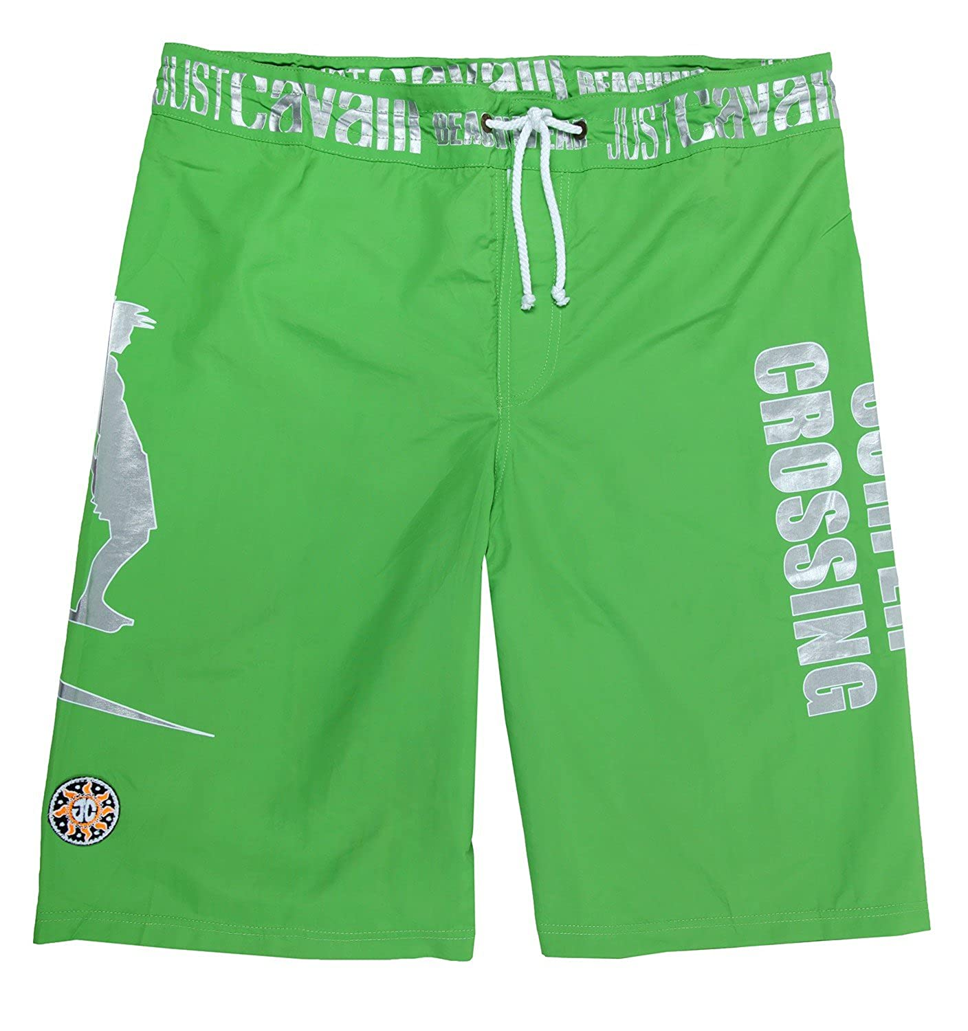 Just Cavalli Beachwear Men Bermuda green A605-36C