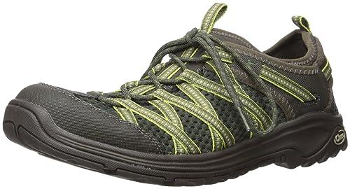 Zapatillas de senderismo Outcross Evo 2 para hombre, ruta Olive, 11 M US: Amazon.es: Zapatos y complementos
