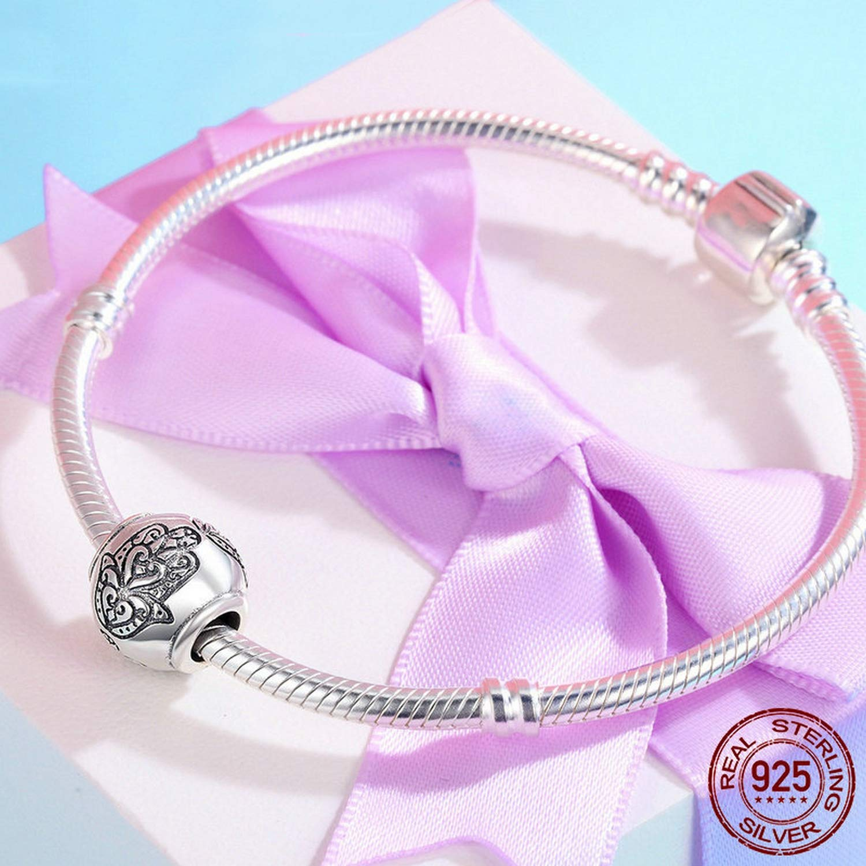 EverReena Beads Hamsa Hand of Fatima Lucky for Silver Bracelets