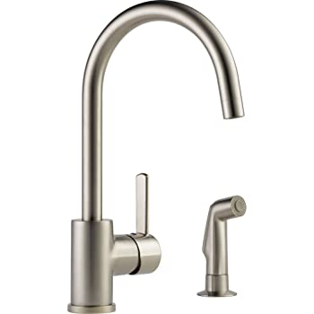 Moen 7165SRS Align One-Handle High-Arc Kitchen Faucet with