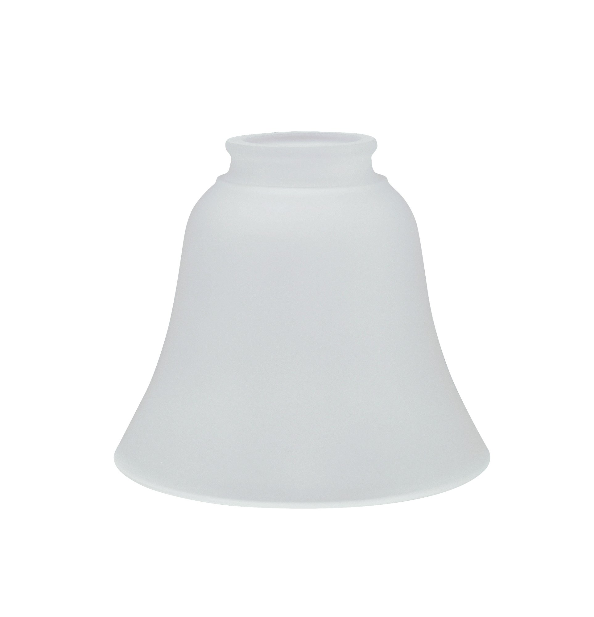 Aspen Creative 23026-4 Transitional Style Replacement Glass Shade, Frosted by Aspen Creative (Image #2)