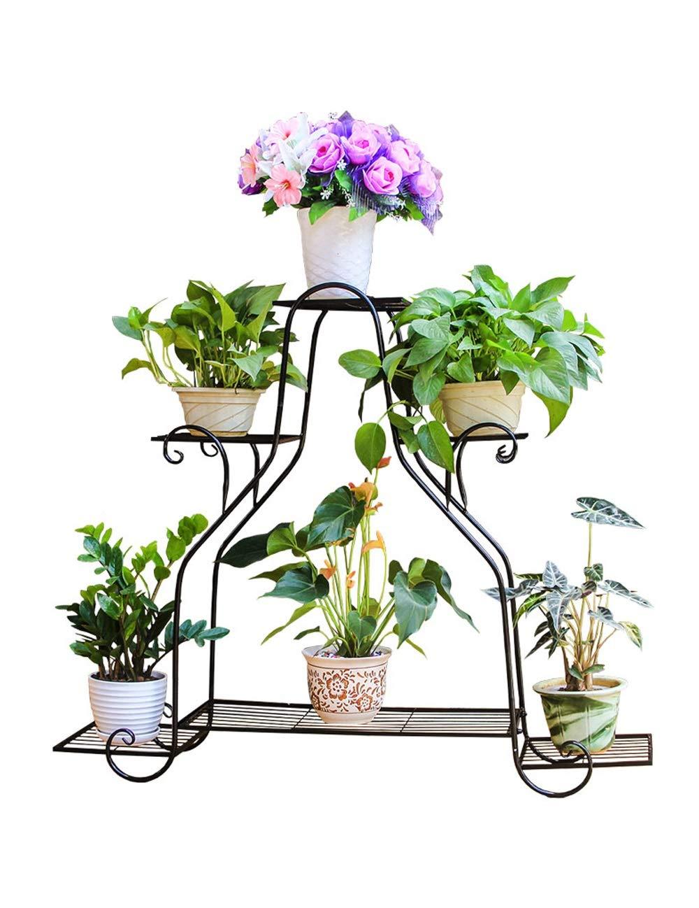 BJL Telaio vaso di fiori Scaffali Porta Piante Espositore Multistrato per Piante da Interno E da Esterno A+ (colore   A, Dimensioni   L.)
