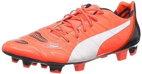 Puma Evopower 1.2 Fg Scarpe Da Calcio da uomo arancione lava blast white to