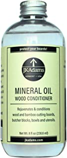 product image for JK Adams 8 Ounce Mineral Oil Wood Conditioner Bottle