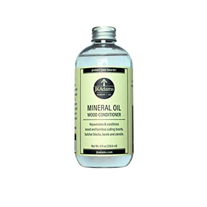 Jk Adams 8 Ounce Mineral Oil Wood Conditioner