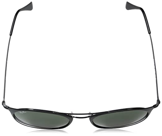 Amazon.com: Ray-Ban Steel Unisex Round Sunglasses, Black Top Matte Black,  49 mm: Clothing