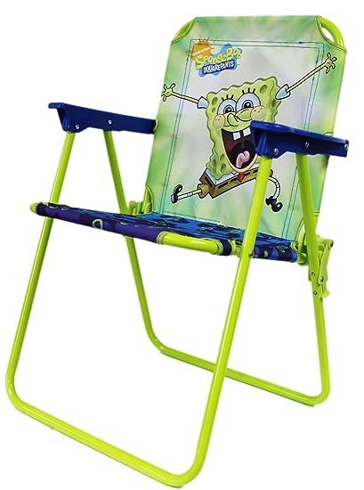 Amazon.com: Azul y Verde Neón. Spongebob Squarepants silla ...