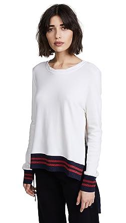 Amazon.com  Pam   Gela Women s Side Slit Sweatshirt (Medium cecd6ece2