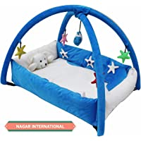 Nagar International Baby Playgym Cum Playpen Blue 0-12 Months Baby