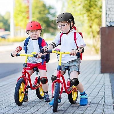 3-12 Year Cycling Toy Ice Skating Balance Bike Kids Knee Elbow Wrist Pad Set