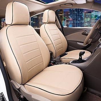 Leatherette beige Car seat covers fit VOLKSWAGEN BEETLE