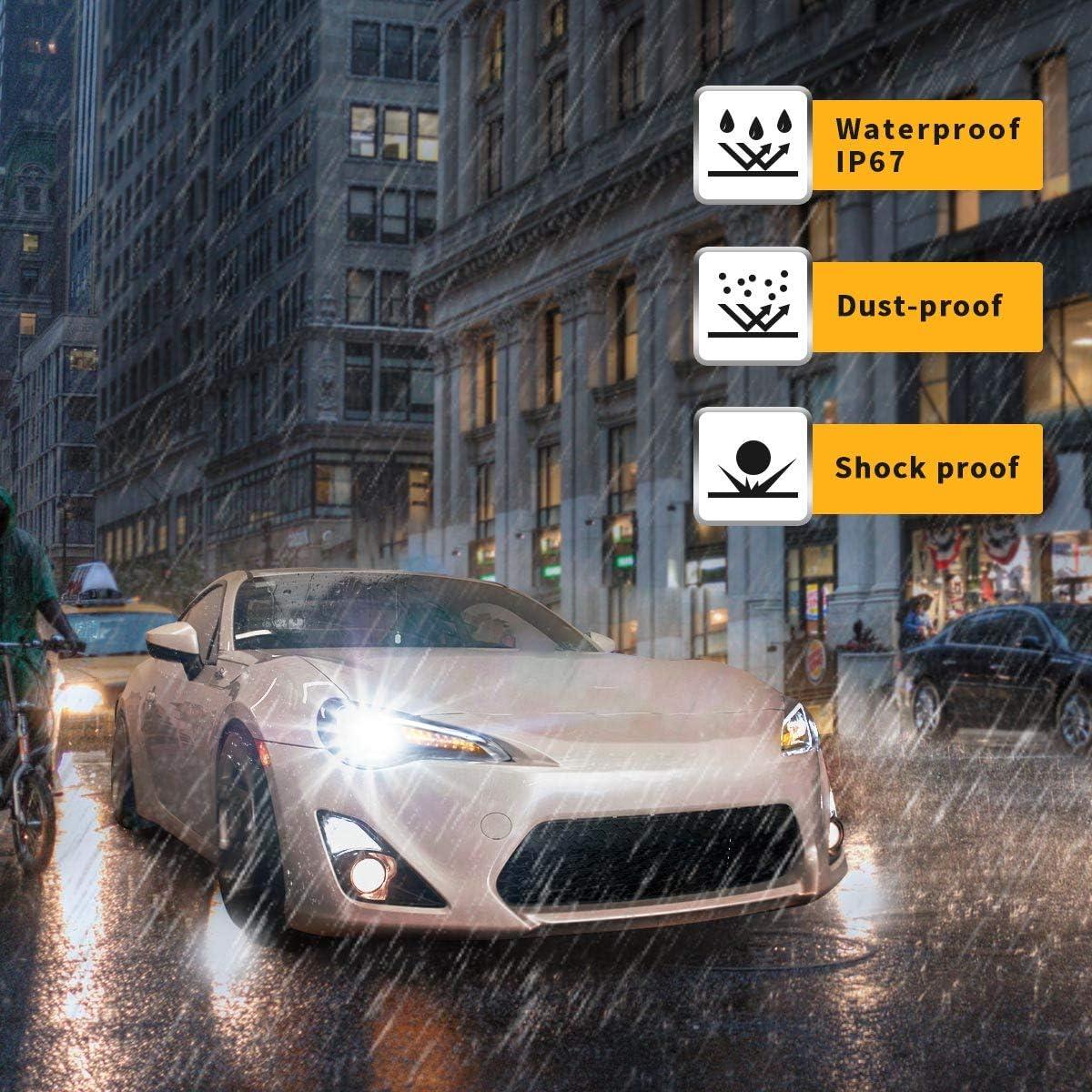 VLAND LED DRL Scheinwerfer f/ür GT86 FT86 FR-S BRZ 2012-2018 Frontleuchten Mit sequentiellem Blinker LHD