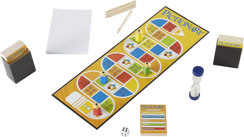 Juegos Mattel - Pictionary, portugués (CHF82): Amazon.es: Juguetes y juegos