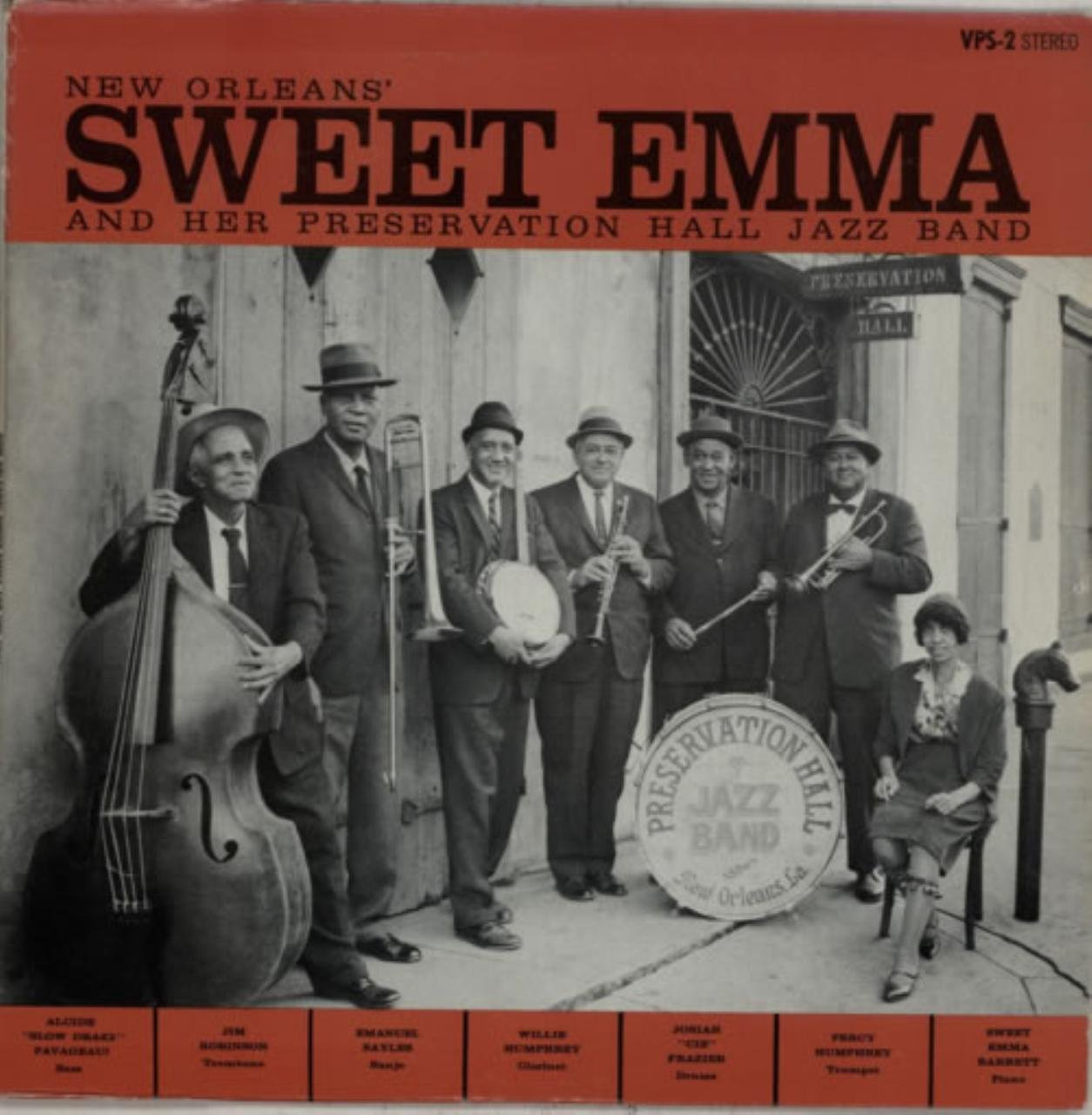 New Orleans' Sweet Emma And Her Preservation Hall Jazz Band by Preservation Hall
