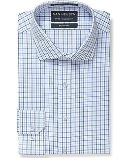 ecdd6c94fcb Van Heusen Men s Euro-Tailored Fit Multi Check Business Shirt