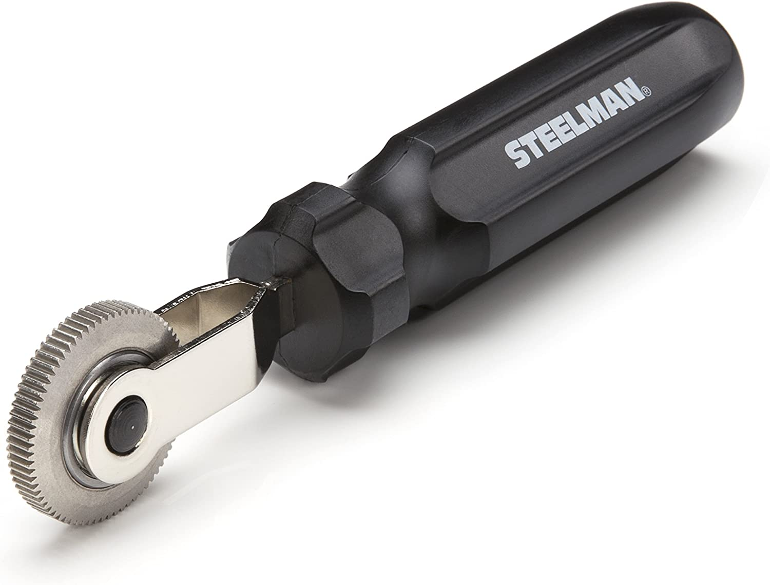 Steelman Tire and Tube Patch Auto Repair Stitcher Tool, Prevents Air Bubbles from Compromising Patch Job During RMA-Approved Flat Tire Repairs, Defined Teeth, 1 1/2-inch Wheel: Automotive