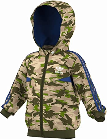 reputable site look out for factory authentic adidas Camo Windbreaker Kleinkinder Kinder Jacken & Westen ...