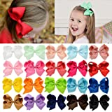 20pcs Hair Bows for Girls 4
