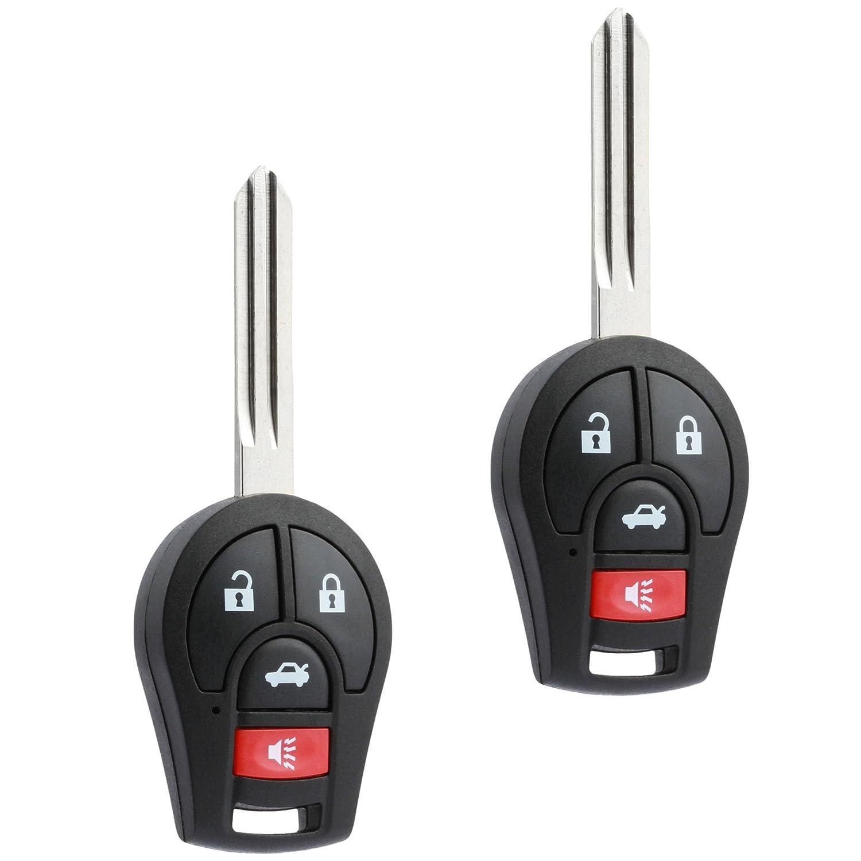 CWTWB1U751 Key Fob Keyless Entry Remote fits Nissan Rogue Cube Juke Versa NV 2008 2009 2010 2011 2012 2013 2014