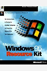 MS Windows 95 Resource Kit (Microsoft Professional Editions) Paperback