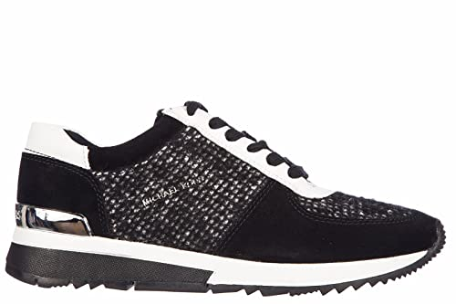 Michael Kors Zapatos Zapatillas de Deporte Mujer City Tweed Allie Trainer Negro EU 39 43F5ALFP2D: Amazon.es: Zapatos y complementos