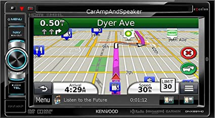 KENWOOD DNX690HD Multimedia Receiver Drivers for Mac