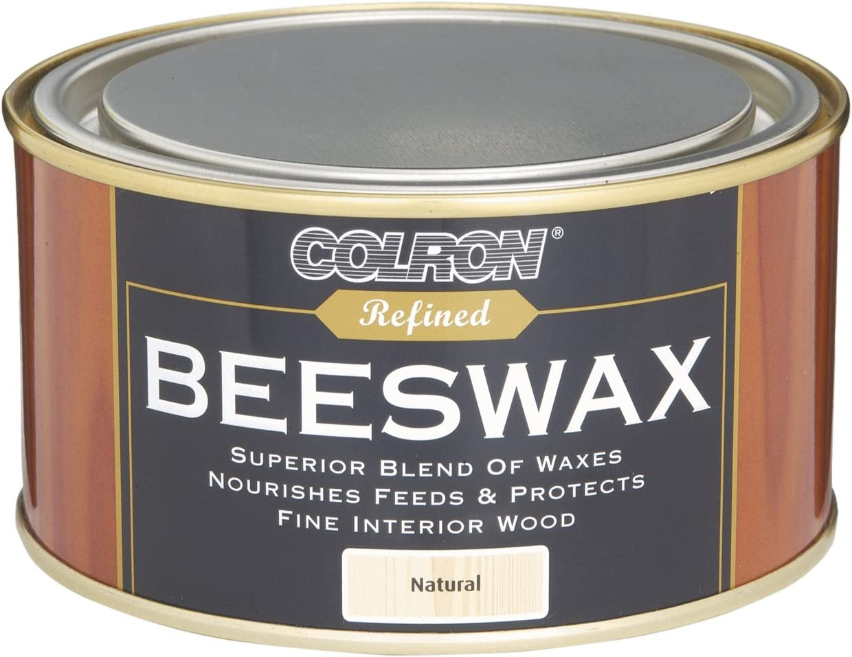 Ronseal CRPBWN4 400g Colron Refined Beeswax Paste - Natural