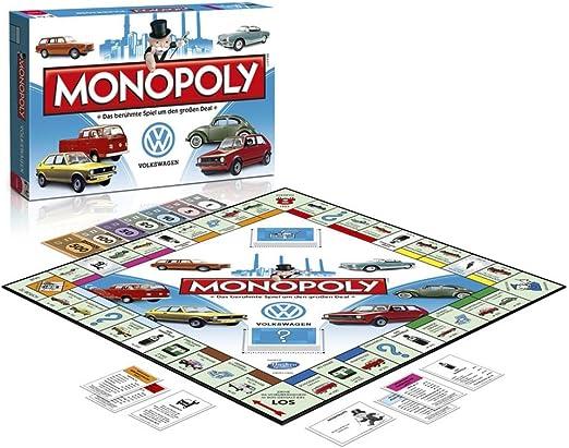 Volkswagen Volkswagen – Juego de Monopoly Original, Juego de Mesa de la Empresa, edición de VW 231087526: Amazon.es: Coche y moto