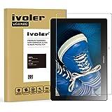 Pellicola Vetro Temperato Lenovo TAB 2 A10-30F / A10-70 10.1'', iVoler ** [Protezione Antigraffi] **Anti-riflesso Ultra-Clear** Ultra resistente in Pellicola Lenovo TAB 2 A10-30F / A10-70 10.1'', Pellicola Protettiva Protezione Protettore Glass Screen Protector per Lenovo TAB 2 A10-30F / A10-70 10.1''.Vetro con Durezza 9H, Spessore di 0,3 mm,Bordi Arrotondati da 2,5D - Garanzia a Vita
