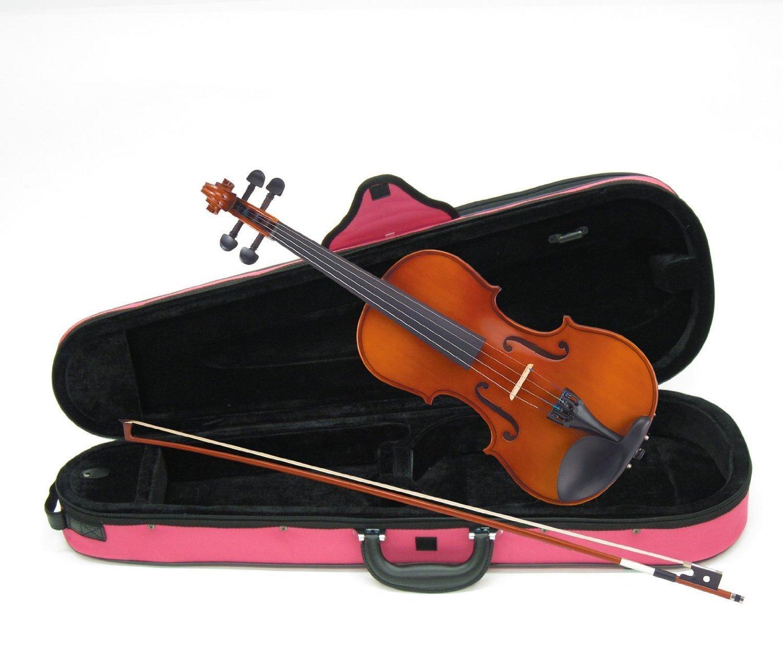 カルロジョルダーノ バイオリンアウトフィット VS-1C 4/4 ピンクケース B00AK4NOXG 4/4 ぴんく ぴんく 43194